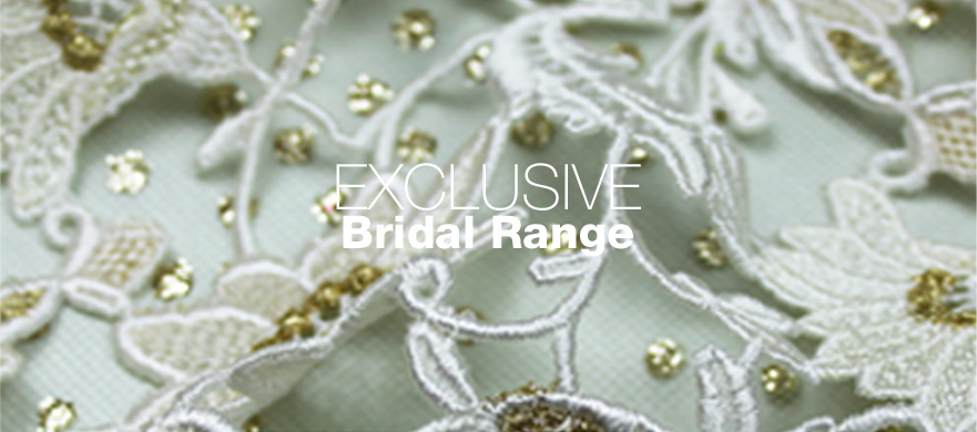 Buy Exclusive Bridal fabrics from Broadwick Silks