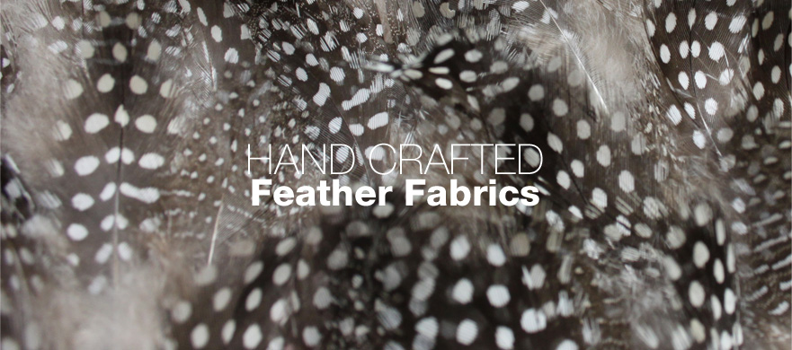 Buy Hand Crafted Feather fabrics from Broadwick Silks
