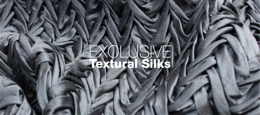 Buy Exclusive Textural Silks from Broadwick Silks